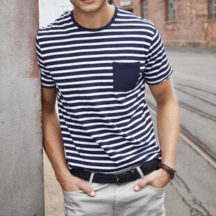 Men's T-Shirt Striped 1
