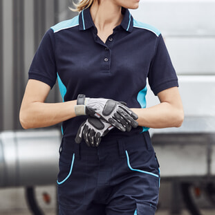 Ladies' Workwear Polo - COLOR 1