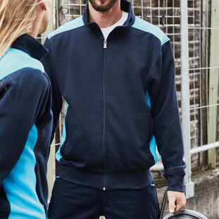 Men's Workwear Sweat Jacket - COLOR 1