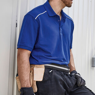 Men's  Workwear Polo - SOLID 1