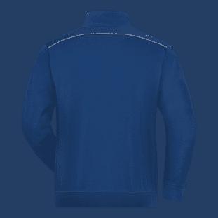 Men's Workwear Sweat-Jacket - SOLID 2
