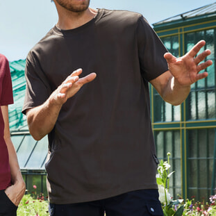 Men's BIO Workwear T-Shirt - SOLID - 1