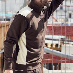 Workwear Half-Zip Sweat - COLOR 1