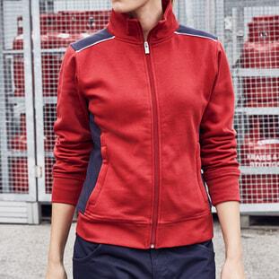 Ladies' Workwear Sweat Jacket - COLOR 1