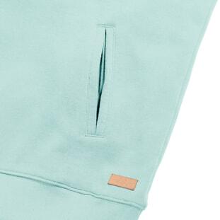 Pure Organic High Collar Hooded Sweat 3