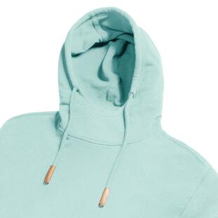 Pure Organic High Collar Hooded Sweat 4