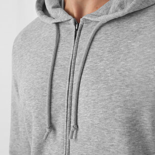 Organic Zipped Hooded 2