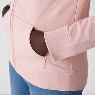 Organic Zipped Hooded /women 2