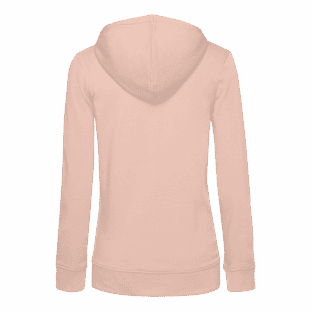 Organic Zipped Hooded /women 3