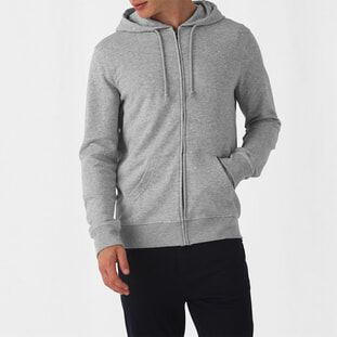Organic Zipped Hooded 1
