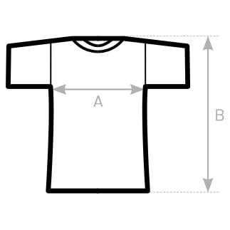 Klassisches Frauen-T-Shirt mit V-Ausschnitt